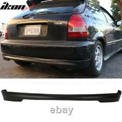 Fits Honda Civic 96-98 3Dr Mugen PP Front + Rear Bumper Lip Spoiler