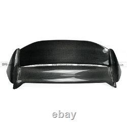 For 02-05 Honda Civic EP3 USDM Hatchback Mug-style Carbon Roof Spoiler Wing lip