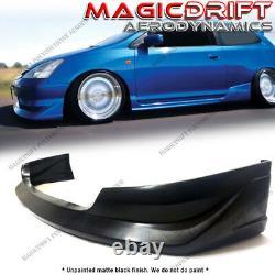 For 02-05 Honda Civic SI HATCHBACK AW WALKER JDM Front Bumper Lip Spoiler Kit