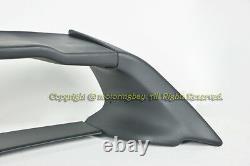 For 06-11 Civic 4DR Rear Spoiler Trunk Spoiler Wing Mugen RR + 2 x Red Emblem