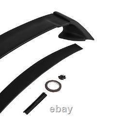 For 06-11 Honda Civic FD2 4Dr Mugen RR Style JDM MUG Rear ABS Trunk Spoiler Wing