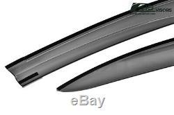 For 12-15 Honda Civic Mugen II Style Window Visors Rain Guard Defector FB6 4DR