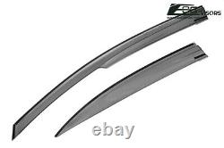 For 12-15 Honda Civic Sedan JDM MUGEN Tape On Side Vents Window Rain Guards