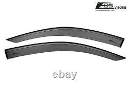 For 16-20 Honda Civic Hatchback Real Mugen Style Clip On Side Vent Window Visors
