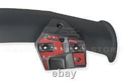 For 16-Up Honda Civic Hatchback FK4 FK7 JDM SPOON Style Rear Roof Wing Spoiler