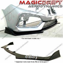 For 17-19 Honda Civic 5-Door Hatchback HB JDM CS Style Front Bumper Lip Spoiler