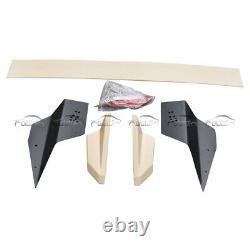 For 2016-2020 Honda Civic Mugen FK8 FK7 Hatchback ABS Rear Trunk Spoiler Wings
