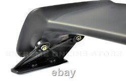 For 96-00 Honda Civic 2Dr Mugen Style Rear Wing Spoiler Lip With 2X Red Emblems