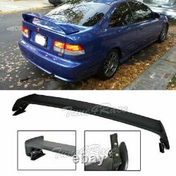 For 96-00 Honda Civic Mugen Style Rear Spoiler Wing trunk ABS Plastic 2Dr Coupe