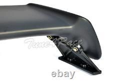 For 96-00 Honda Civic Mugen Style Trunk Wing Spoiler 4Dr Sedan with black emblems