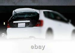 For Honda Civic 7th EP3 2002-05 Carbon Fiber Mugen Rear Trunk Spoiler Wing Flap