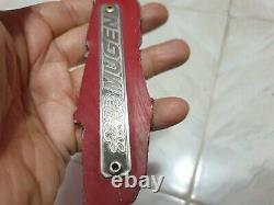 Genuine Honda Civic EG6 SR3 EK9 DC2 JDM Emblem Badge Mugen Bumper Lip