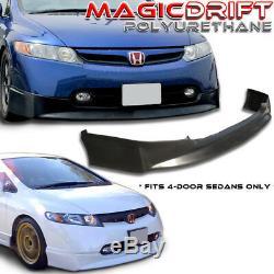 Honda CIVIC 4dr Sedan HP Hfp Front Bumper Lip Spoiler Pu Urethane Fa5