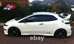 Honda CIVIC Euro Fn1 Fn2 Half Carbon Rear Wing Spoiler Mugen Style Unpainted
