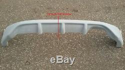 Honda CIVIC VII 7th Ep Mugen Look Rear Bumper Diffuser / Spoiler / Lip