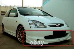 Honda Civic 7 gen EP mugen look front bumper spoiler / diffuser / lip