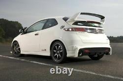 Honda Civic 8 gen FN mugen look rear boot spoiler