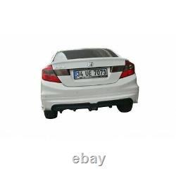 Honda Civic FB7 (2012-2016) Mugen RR Rear Bumper Diffuser (Plastic)