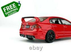 Honda Civic FD6 (2006-2011) Mugen RR Style Rear Bumper Extension Diffuser