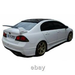 Honda Civic FD6 (2006-2011) Mugen Rear Bumper Extension Diffuser (Plastic)