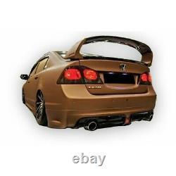 Honda Civic FD6 Mugen RR Style Rear Bumper Extension Diffuser(2006-2011)