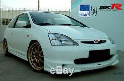 Honda Civic Mugen style front lip splitter 01-03 ep1 ep2 ep3 ep4 Type R