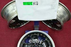 JDM 14 MUGEN MR5 14x6 +38 4x100 RIMS HONDA CIVIC EF EG CRX #EI734