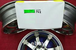 JDM 15 MUGEN NR 15x6.5J +45 4x100 RIMS HONDA CIVIC EF EG EK JAZZ FIT CRX #EI619