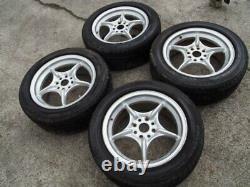 JDM 4x100 Civic Fit For Honda EF EF8 EF9 EG6 EK4 EK RNR Mugen Power Wheels Rims