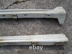 JDM 96-00 Side Skirts Spoiler Mugen Power For Honda Civic EK3 EL1 MB4 EK4 4Door