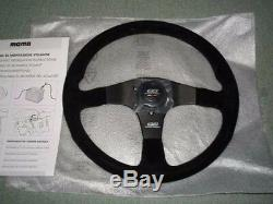 JDM OEM MUGEN POWER HONDA Steering Wheel MOMO Buckskin 350mm GENUINE Civic TypeR