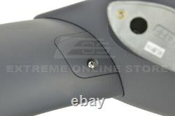 JDM Type-R PRIMER BLACK Rear Trunk Lid Wing Spoiler For 16-20 Honda Civic Coupe