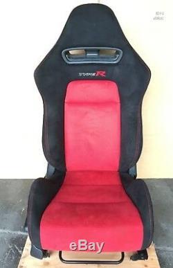 Jdm 06-11 Honda CIVIC Typer Ctr Fd1 Fd2 Oem Rhd Rh Type-r Mugen Red Black Seat