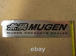 Jdm Mugen Dealer Decal Sticker Plate Badge Honda Acura CIVIC Crx Integra S2000