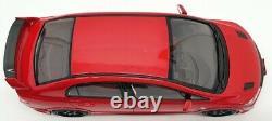 Kyosho 1/18 Scale Model Car 18038R 2017 Honda Civic Mugen RR Red