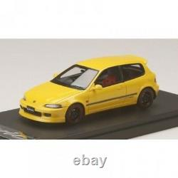 MARK43 1/43 Honda Civic (EG6) Custom With Mugen RNR Wheel Yellow PM4365CMY Japan