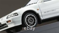 MARK43 1/43 Honda Civic Si EF3 with Mugen CF-48 Wheel White Resin Model PM4358SW