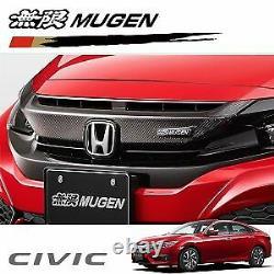MUGEN HONDA CIVIC Carbon Front Grille Garnish FK7 FK8 75130-XNCD-K0S0 NEW EMS