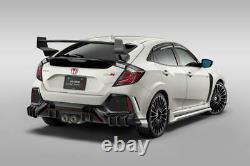 MUGEN Power For 17-Up Honda Civic Type R FK8 Aero Rear High Wing Spoiler Kit