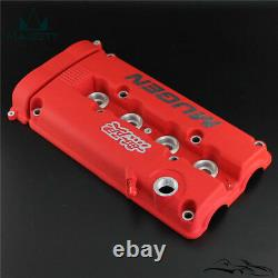 MUGEN Style Engine Valve Cover For Honda Civic B16 B17 B18 Integra GSR VTEC DOHC