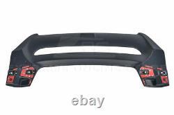 MUGEN Style Rear Roof Wing Spoiler For 16-Up Honda Civic Hatchback FK4 FK7
