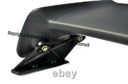 MUGEN Style Rear Trunk Wing Spoiler & BLACK Emblem Pair For 96-00 Civic Sedan