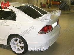 MV-Tuning Rear Wing Spoiler Mugen Style for Honda Civic 4D 8th gen 2006-2012
