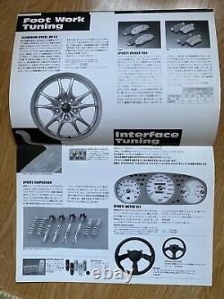 Mugen Honda Civic Type R EK9 Brochure Rare Catalogue B16 Spoon Wheel Shift Horn