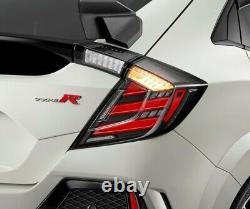 Mugen LED Tail Lights 2017+ Honda Civic Type-R FK8 2016+ Civic Hatch Back FK7