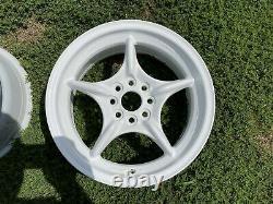 Mugen RNR 15x6.5JJ +45 4x100 Honda Crx Civic Si JDM Wheels Rims