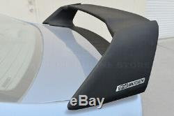 Mugen RR Style ABS Plastic Rear Spoiler With Black Emblems For 06-11 Civic Sedan