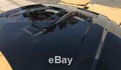 Mugen Style Carbon Fiber Hood for 1999 2000 Honda Civic Coupe Sedan Hatch