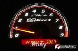 Mugen Style Cluster Overlay for 06-11 Civic 4 Door / 2 Door FD2 FD1 FA5 FG1 FG2