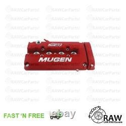Mugen Style Valve Rocker Engine Cover for Honda B16 B18 VTEC Red Civic Integra